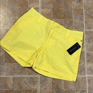 NWT Tommy Hilfiger cotton shorts size women's 6